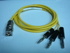 Triaxial(公) to Banana(3公signal+guard+ground)-Cable