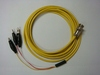 Triaxial(公) to 3鱷魚夾(signal+guard+ground)-Cable