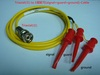 Triaxial(公) to 3測試勾(signal+guard+ground)-Cable