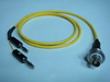 Triaxial(母) to Banana(2公signal+ground)-Cable