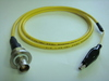 Triaxial(母) to 鱷魚夾(signal)-Cable