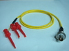 Triaxial(母) to 3測試勾(signal+guard+ground)-Cable