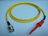 Triaxial BNC(公) to 測試勾-Cable