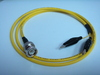 Triaxial BNC(公) to 2鱷魚夾-Cable