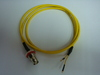 Triaxial BNC(公) to 杜邦端子2母(signal+ground)-Cable