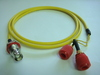 Triaxial BNC(母) to Banana(2母)-Cable