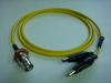 Triaxial BNC(母) to 2鱷魚夾-Cable