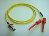 Triaxial BNC(母) to 2測試勾-Cable