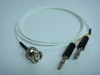 Coaxial(公) to Banana(2公signal+ground)-Cable