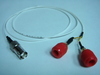 Coaxial(母) to Banana(2母signal+ground)-Cable