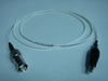 Coaxial(母) to 鱷魚夾(signal)-Cable