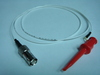 Coaxial(母) to 測試勾(signal)-Cable