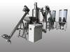 不鏽鋼齒輪式超微粒磨粉機加集塵桶