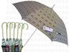 鉤繡花邊UV蘇格蘭格直傘