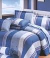 【高雄新鴻彈簧床墊寢具批發】現貨#T-667藍