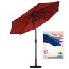 9呎8骨高級玻纖鋁傘