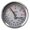 外殼不銹鋼溫度壓力複合錶