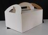 手提彩盒 ( 350P灰銅、全彩四色印刷、上光、裱瓦楞紙、成型、糊盒)